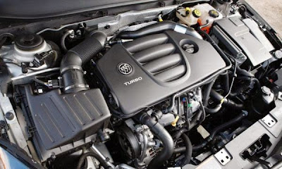 2016 Buick Regal Engine
