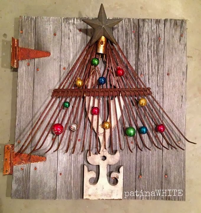 Christmas Wall Decor Recycled : Never new christmas repurposing and diy ideas