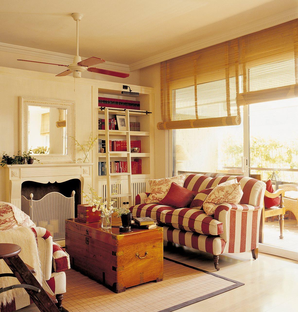 Detalhes do c u no conforto da sua sala for Imagenes de salones decorados