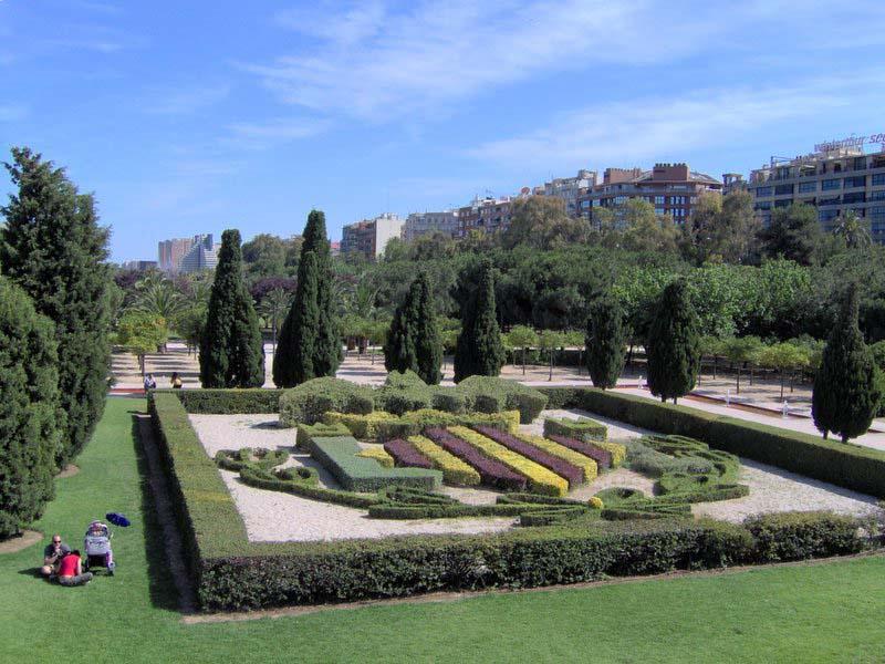 Valencia para so terrenal cauce del r o turia for Jardin urbano valencia