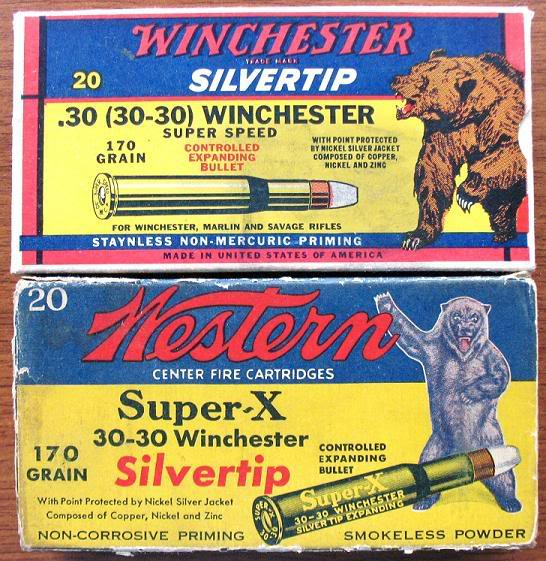Western and Winchester 30-30 Bear Box