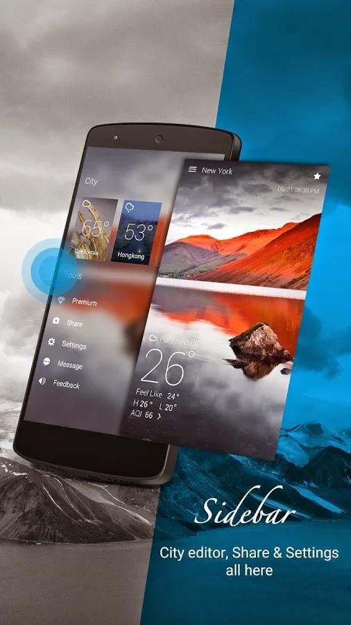 GO Weather Forecast & Widgets Premium v5.25