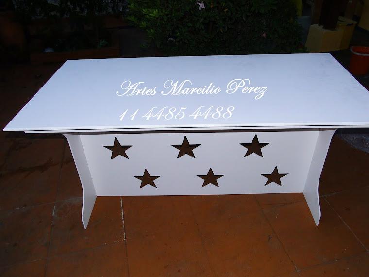 Mesa provençal Estrela medida 1.65x80x80A