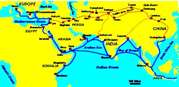 Penyebaran Pengaruh Hindu Buddha Asia Timur Tenggara Gambar Peta Negara