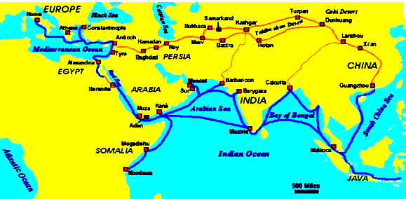 Penyebaran Pengaruh Hindu-Buddha di Asia Timur dan Asia Tenggara