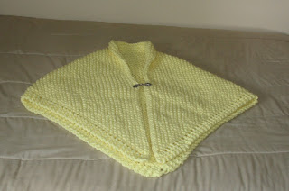 Mom' s yellow shawl