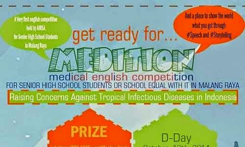 Medition (Medical English Competition) 2014