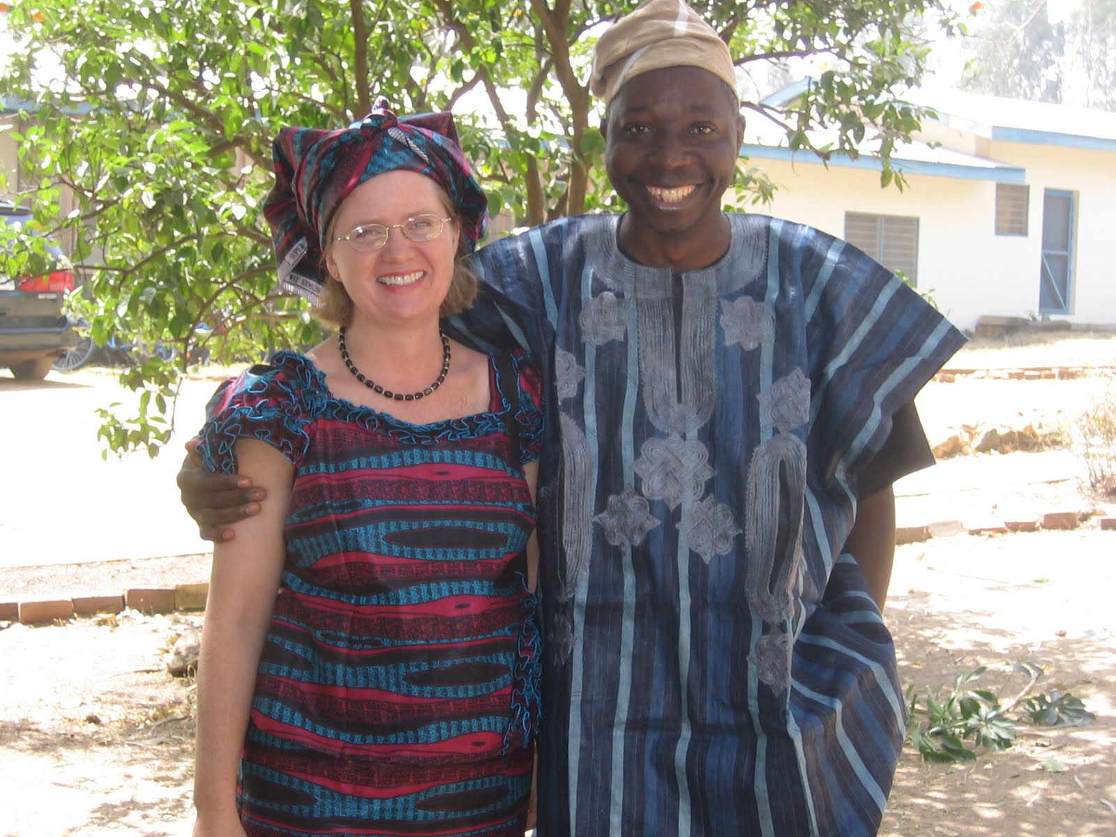 Mary Beth and Bayo Oyebade