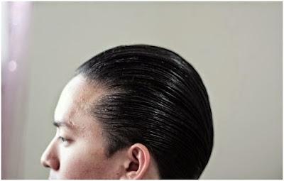 Hasil rambut Murray's Pomade Super Light