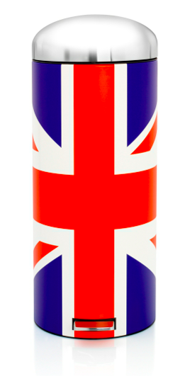 given to distracting others brabantia retro union jack 30 litre bin review. Black Bedroom Furniture Sets. Home Design Ideas