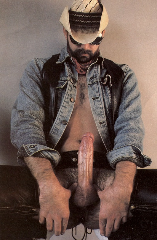 Big Hairy Gay Cowboy Cock