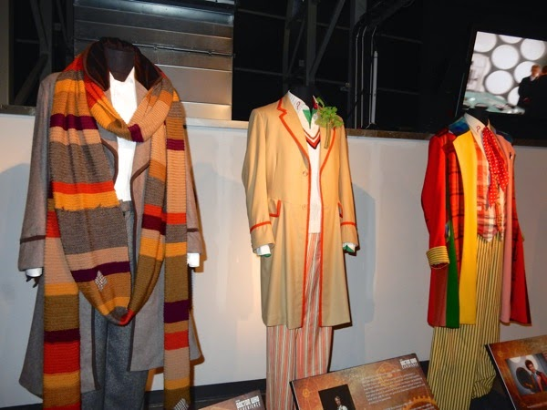 Fourth fifth sixth Doctor Who costumes