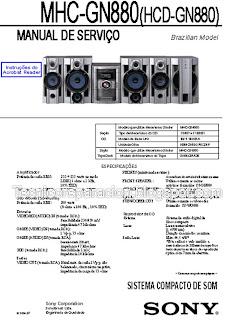 Diagrama Sony Genezi MHC-GN880