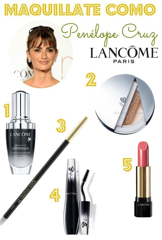 Consigue el maquillaje de Penélope Cruz en la Premier de Ma ma para Lancôme