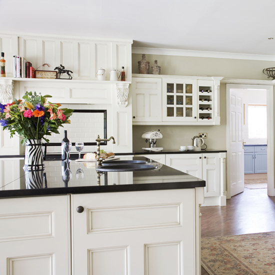 Kitchen cabinets country style kitchen design photos 2015 for Country style kitchen b q