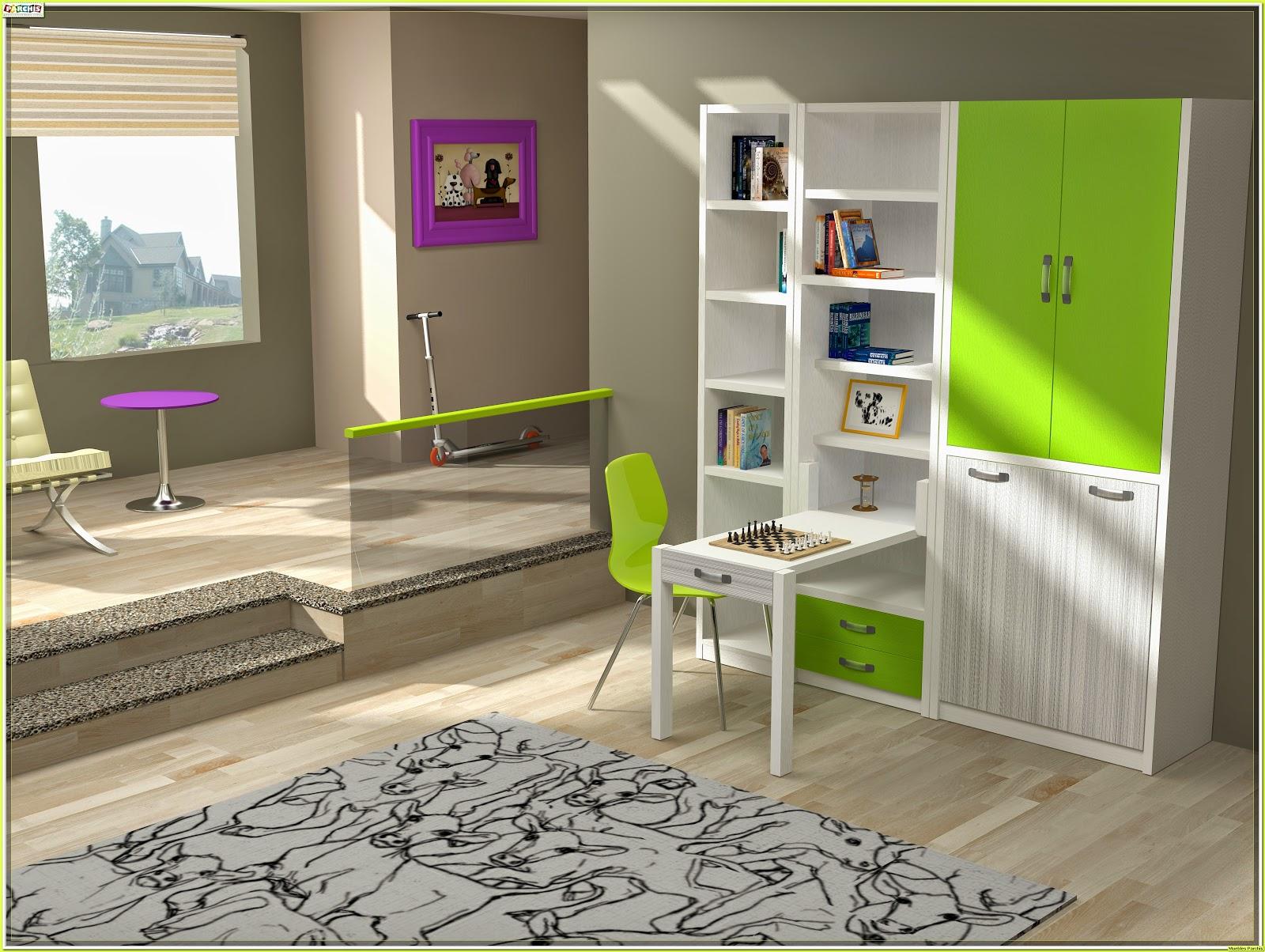 Muebles juveniles dormitorios infantiles y habitaciones juveniles en madrid camas abatibles for Habitaciones juveniles 3 camas