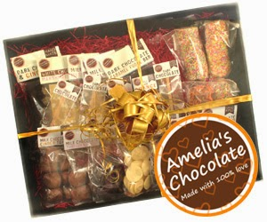 Amelia's Chocolate Christmas Hampers