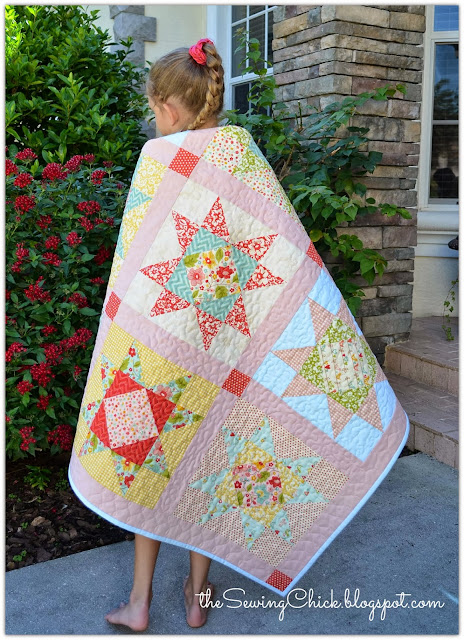 the sweetest thing and seaside stars quilt