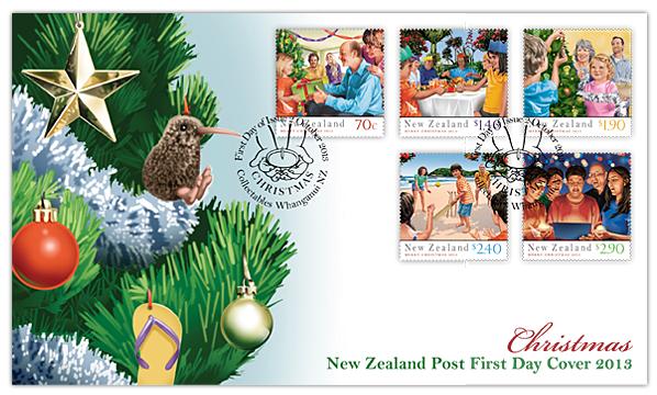 Virtual New Zealand Stamps: 2013 Christmas