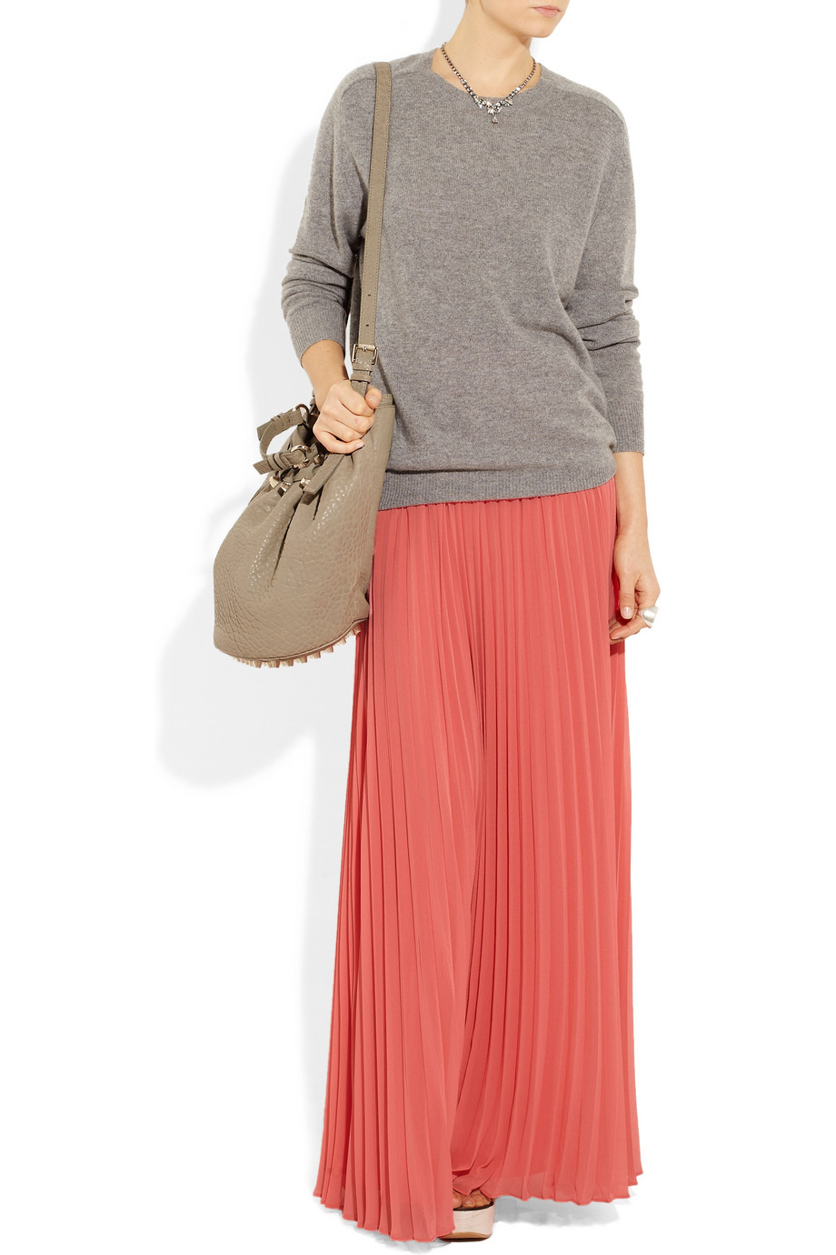 style maxi skirt styling