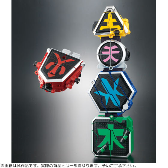 Super Sentai Artisan DX Shinken-Oh official image 05