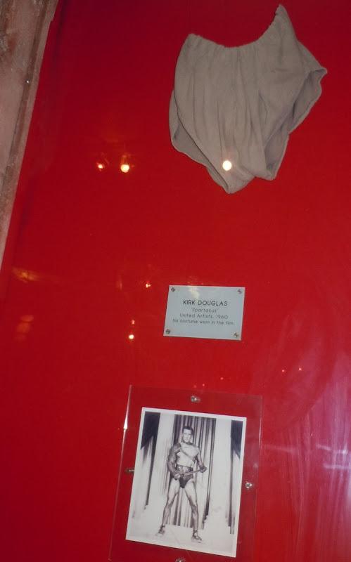Kirk Douglas Spartacus loincloth