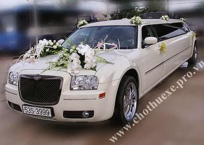 Cho thuê xe cưới LINCOLN LIMOSIN KRYSTAL