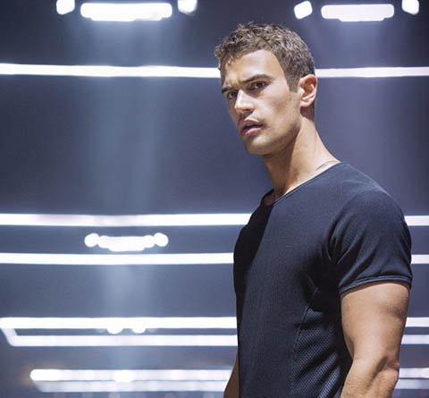 Theo James in Divergent