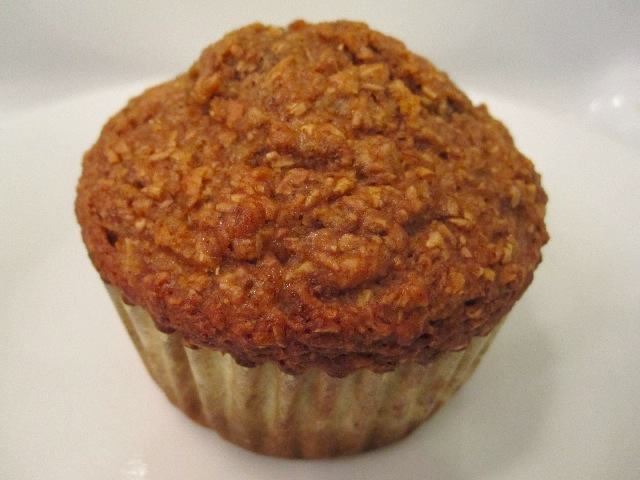 The Baker's Nuts: Low Fat Banana Bran Muffins