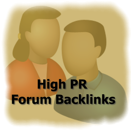 high pr forum backlinks