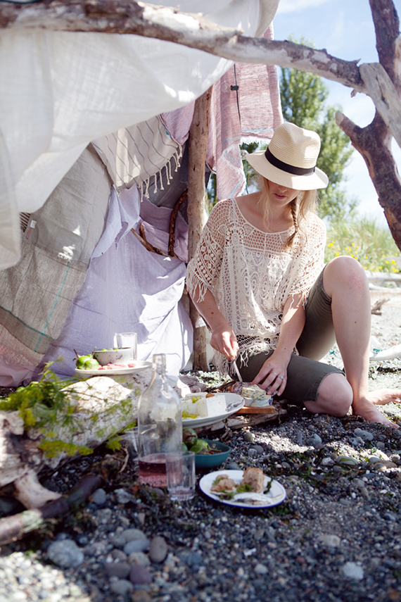 Beach picnic | Cannelle et Vanille