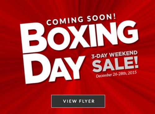 Canadian Tire Boxing Day Sneak Peek Flyer