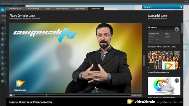 Curso Video2Brain: Especial WordPress: Personalización