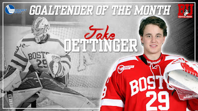 Hockey East: More Kudos For Oettinger; Recruits Shine In International Tourneys--UPDATED