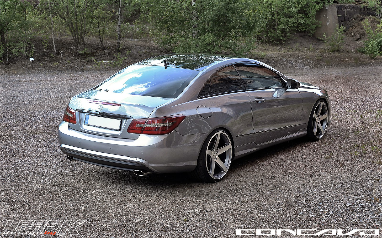 Mercedes benz w207 e350 on concavo cw 5 benztuning for Mercedes benz wheel