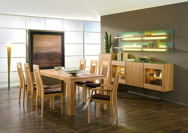 Fotos de comedores modernos muy acogedores ideas para for Ideas para decorar un comedor moderno
