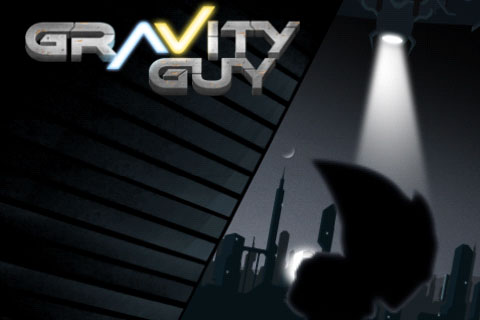 Gravity Guy Free App Game By MiniClip