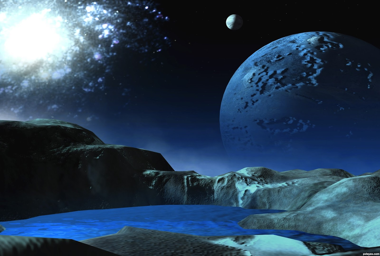 Far Future Horizons : Alien Worlds