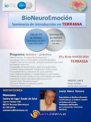 Introductorio sobre BioNeuroEmconión en Terrassa