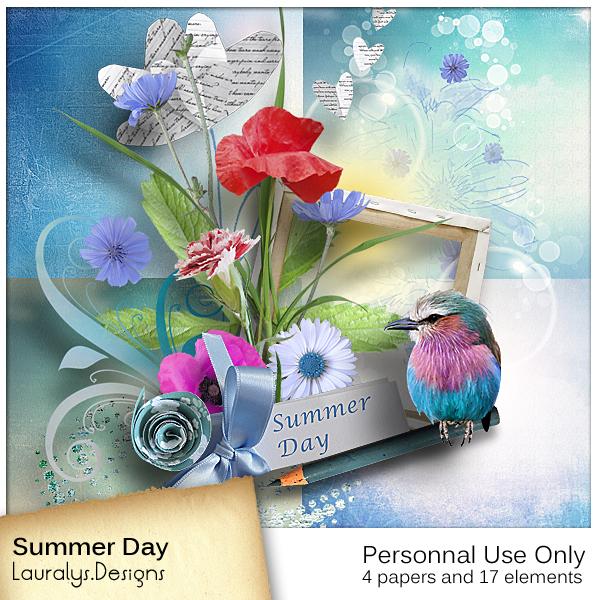 Les freebies de Lauralys Preview_Summerday