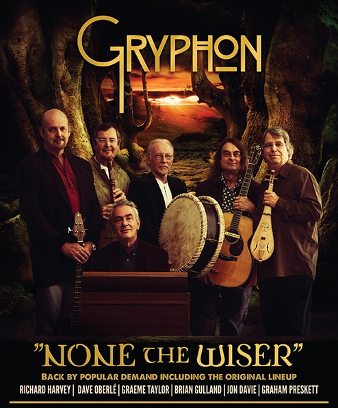 GRYPHON - 2015 tour poster