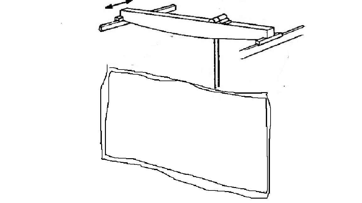 diagram of back flat screen
