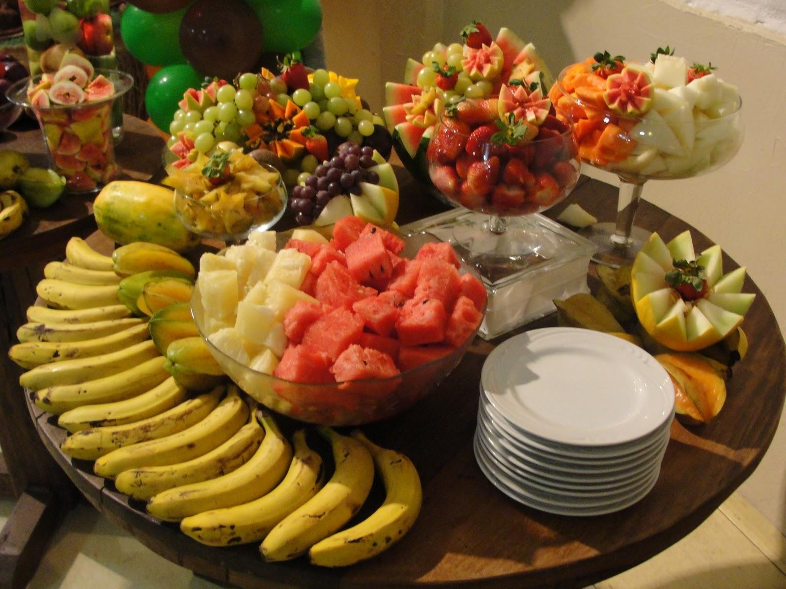 Blog do buffet infantil miniland tatuap mesas opcionais - Adornos de frutas para mesas ...