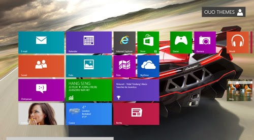 Lamborghini Veneno Roadster 2014 Theme For Windows 7 And 8 8.1