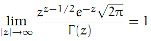 Complex Analysis: #28 Stirling`s Formula equation pic 2