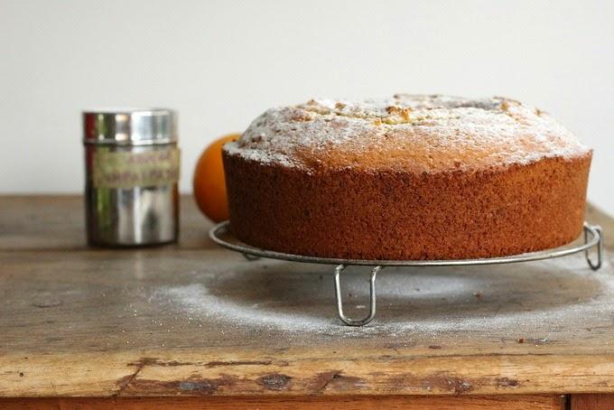 Orange Rum Cake