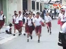 pelajar SD tawuran