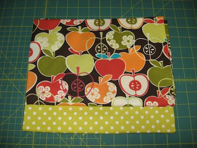 Apple Apron Fabric