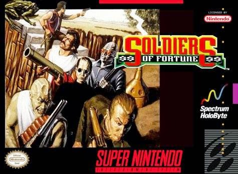 soldiers of fortune snes rom cover game