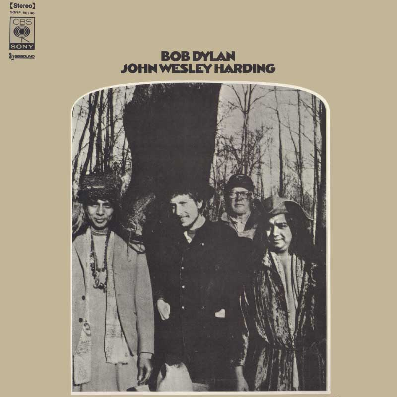 Bob Dylan - John Wesley Harding album cover